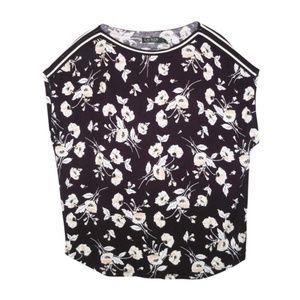 NWT Ralph Lauren Floral Tee Shirt Top 2X Viscose